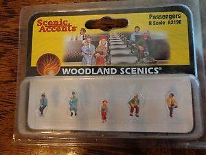 Woodland Scenics N #2190  -  Passengers