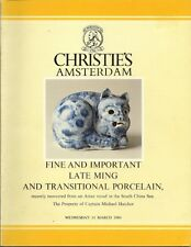 CHRISTIE'S Ming Chinese Porcelain Shipwreck Hatcher Collection 3 Vols Compl Set