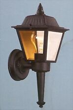 Hampton Bay Exterior Wall Lantern - Black Finish 240 177