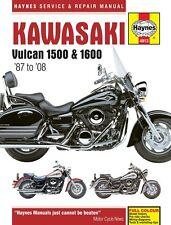 Kawasaki Vulcan 1500 & 1600 1987-2008 Haynes Manual 4913 NEW