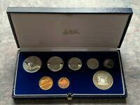 CB2114) South Africa 1984 Proof set of 8 coins. In original packaging no cert.