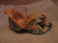 Diane's Happy Toes Fairy Votive Cup Candle Holder