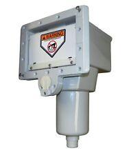 Hoffinger 52091015 ThruWall Skimmer - Fits Doughboy Wall Punch - Grey 5-2091-015