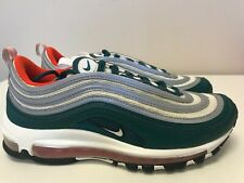 Mens Size 8 Nike Air Max 97 Rainforest/White-Team Orange 921826 300