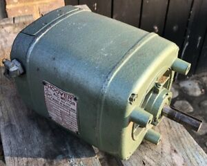 Hoover 3/4 HP 0.55kw 3 phase 4 pole 1450 rpm electric motor