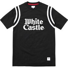 SUPREME White Castle Football Top Black M box logo camp cap  S/S 15