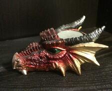 Dragon Head Tea Light Holder  Candle Holder Gothic
