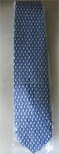 Ermenegildo Zegna Blue Silk Tie - Brand New