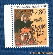 N°2836 - TIMBRE NEUF Bonne Fete de C. Wending France 1993