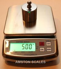 11 X 0002 Lb 0035 Oz 5000 X 1 G Digital Scale Steel Gold Silver Bench Lab New