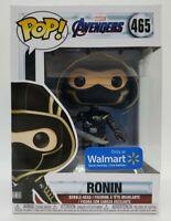 Funko Pop! Marvel Avengers Endgame #465 Walmart Exclusive Ronin + Pop Protector