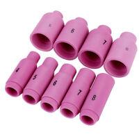 Hi-Quality 54N14 #8 Alumina Nozzle Gas Len Fit WP 17 18 26 TIG Welding Torch 3X