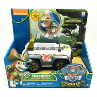 Patrol Dog Tracker's Jungle cruiser nickelodeon PAW Rescue Model Car Kids Toy