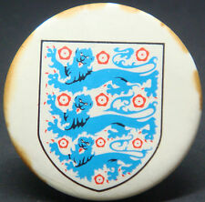 Old ENGLAND Button badge 38mm x 38mm