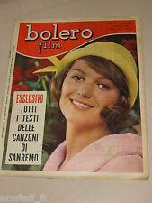 BOLERO=1965/927=CLAUDIA CARDINALE=GUIDO SACERDOTE=RITA PAVONE=FESTIVAL SANREMO=