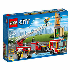 Lego 60112 City Fire Engine 100% Band New