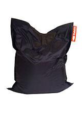 Black Hippo Children's Bean Bag Slab Water Resistant Beanbag Kids Gamer Outdoor