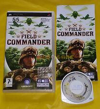 FIELD COMMANDER - Sony PSP - Versione Ufficiale Italiana ○○ COMPLETO - AT