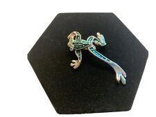 Dangle Leg Frog Brooch Pin Jewelry - Moving Legs!!!