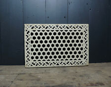 Large Reclaimed Victorian Orangery Green House Cast Iron Vent / Grid / Grille
