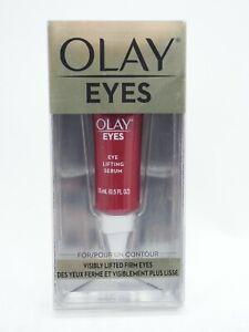 Olay EYES Eye Lifting Serum VISIBLY LIFTED FIRM EYES .5oz 15ml New sealed Box