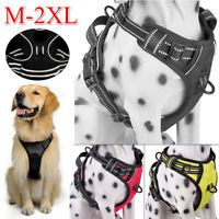 Dog Pet Vest Harness Strap Adjustable Nylon Small Medium Large XL No Pull