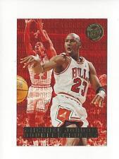 1995-96 Ultra Double Trouble Gold Medallion #3 Michael Jordan Bulls