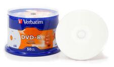 50x Verbatim DVD-R Rohlinge 4.7 GB voll bedruckbar - full printable -16x - 43533