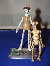 Ody Mandrell and Pit Droid  MINT Complete Fresh Off The Card Star Wars KP