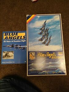 1/72 Blue Angels History by Hasegawa Brand new Sealed contents with extra Book