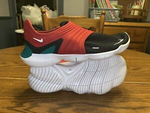 Nike Free RN Flyknit 3.0 SF Athletic Shoes CD9270-610 Gym Red/Black/White/Green