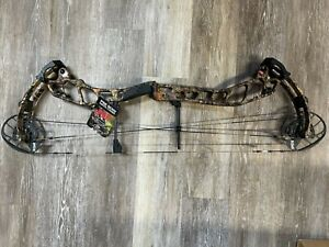 "PSE EVO NXT-33 26½"" to 32"" Right-Hand 50# to 60# Compound Hunting Bow IBO 322fps"