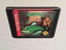 Teenage Mutant Ninja Turtles Tournament Fighters (Sega Genesis) Cartridge Exc!