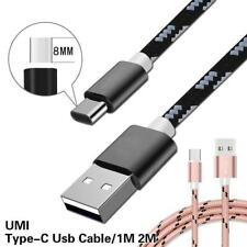 Braided Type C USB-C Data Sync Charging Charger Cable For Various UMi Phones