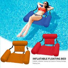 Gonflable Natation fauteuil piscine Siège Pliant Salon Chaises Summer Sport Eau
