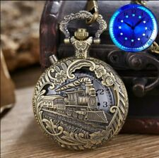Necklace Attached. Please Read Description. Quartz Pocket Watch with Led &