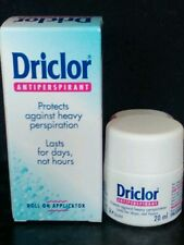 Stop excessive sweating ! Works great ! Driclor deodrant anti perspirant roll on