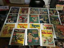 Golden age comic lot of 18