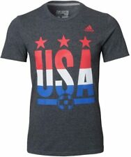 adidas USA Soccer T-Shirt Logo Go To Performance Tee Shirt
