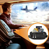 Money Belt w/RFID Blocking Sleeves Set - Travel Wallet & Passport Holder Canadia