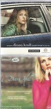 DIANA KRALL 2 CD's BORDERS exclusive PROMO interview I SHOULD CARE ps I love you