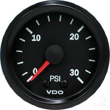 VDO Mechanical Boost Gauge 0-30 PSI 150077011