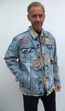 LEVI'S Limited Edition Patch Graffiti Trucker Jacket Size XL California NWT $400