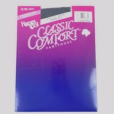 Vintage Hanes Too! Classic Comfort Pantyhose Size Cd Style 172 Classic Navy