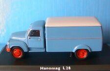 HANOMAG L28 KOFFER LKW SCHUCO 02931 1/43 KASTENWAGEN CAMION TOLE TRUCK