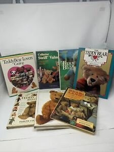Teddy Bear Collector Books Lot Of (7) Hard Cover Books!!!