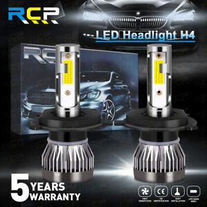 H4 HB2 9003 LED Headlight Bulbs CREE COB 120W High/Low Beam Bulbs 6000K White