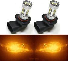 LED 80W 9006 HB4 Orange Amber Two Bulbs Head Light Low Beam Show Use Lamp