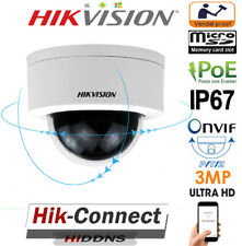 HIKVISION 3MP POE PTZ DS-2DE3304W-DE 4X ZOOM IP67 IK10 NETWORK MINI DOME CAMERA