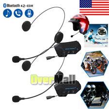 2Pack Music Motorcycle Helmet Headset Wireless Headphones Bluetooth 4.2+EDR